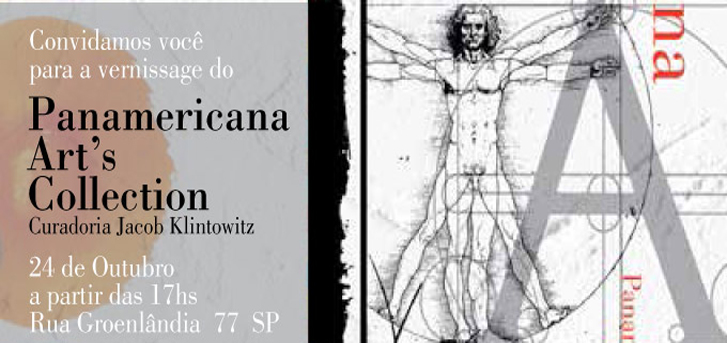 Panamericana Art's Collection com Curadoria de Jacob Klintowitz