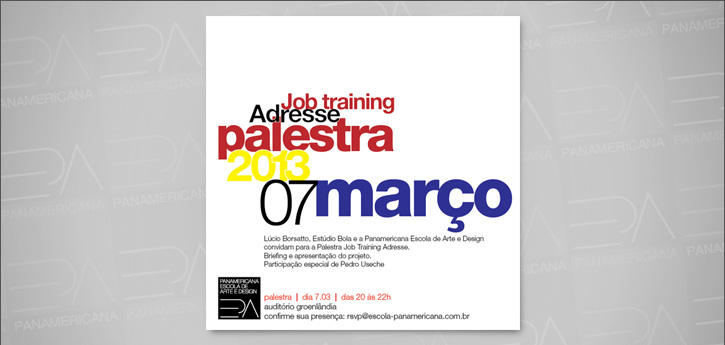 "Palestra ""Job Training Adresse"""