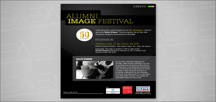 PALESTRA RALPH GIBSON - ALUMNI IMAGE FESTIVAL