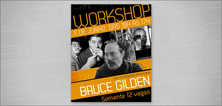 WORKSHOP COM BRUCE GILDEN